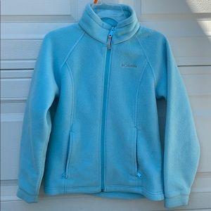 Columbia light blue soft jacket